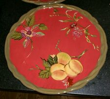 """Set of (4) TRACY the Octavia Hill Collection  11"""" dinner Plates 2 Sets available"""