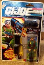 1991 GI Joe BIG BEAR 4 Oktober Guard Anti-Armor Specialist Action Figure MOC