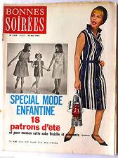 Bonnes Soirées du 30-05-1965; Spécial Mode enfantine/ Henri Salvador/