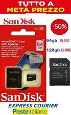 64gb 128gb memoria card SANDISK memory card MICRO SD class 10  64/128GB 98mb/s