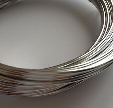Silver Plated Beading Wire Loop Jewelry Making Necklace Bracelet 2mm Aluminum 1A