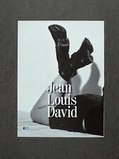 H432 - Advertising Pubblicità -2013- JEAN LOUIS DAVID