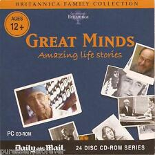 BRITANNICA FAMILY COLLECTION: GREAT MINDS (Daily Mail PC CD-ROM)