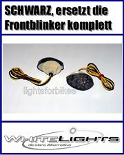 schwarze LED Verkleidungs-Blinker Honda CBR/VTR 125/600/1000, smoked signals