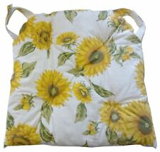 4 Cuscini coprisedia con velcro coordinato 01 copri sedia 40x40 cm nuovo cuscino
