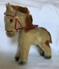 Vintage Steiff Mohair Pony With Bridle