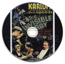 The Invisible Ray (1936) Horror, Sci-Fi, Thriller Movie/Film on DVD