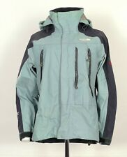 Womens The North Face Summit Series Rain Jacket In Light Blue Size Medium UK 10