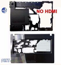 """New Lenovo G470 G475 Palmrest Case & Bottom Case Cover NO """"HDMI"""" Combo US Seller"""