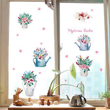 Flowers Garden Room Home Decor Removable Wall Stickers Decals Decorations