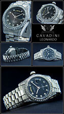 Leonardo A. D. Hause Cavadini Case & BAND SOLID STAINLESS STEEL TAG / Date