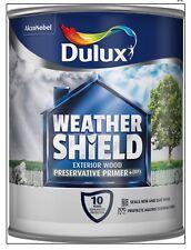 Dulux Weathershield Exterior Preservative Primer Plus 750ml for Wood Free P+P