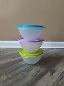 Tupperware Small Wonderlier Bowls