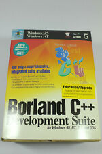Borland C++ Development Suite Version 5 for Windows 95, NT, 3.1, and DOS