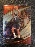 2019-20 Panini Select #228 Courtside SSP James Harden Rockets