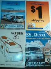 Vintage Camping Literature lot Stag Delta Atwood water heaters ,parts manuel