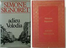 SIMONE SIGNORET ADIEU VOLODIA EDIT° FRANCE LOISIRS RELIE PORT A PRIX COUTANT