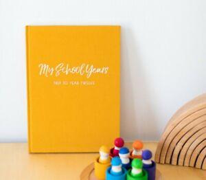 School Memory Album, School Keepsake Book, Photo Album for Class Photos