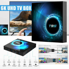 T95 Android 10.0 4+32G/64G 6K HD Smart TV BOX Quad Core WIFI 64Bit Media Player