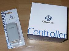 Sega Dreamcast CONTROLLER & Vibration Jump Pack New Original in Box Never Opened