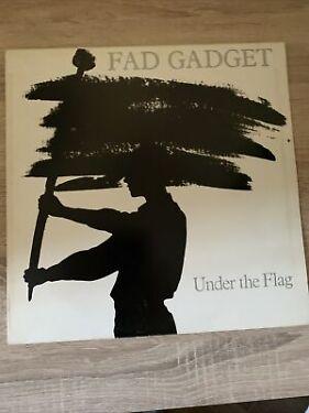 Fad Gadget  Under The Flag Label Mute  STUMM 8 Vinyl LP Album