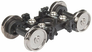 Walthers Proto HO Scale Amfleet Inside Bearing Trucks - Black - 1 Pair