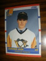 1990-91 Score #428 Jaromir Jagr Pittsburgh Penguins Rookie  NrMt