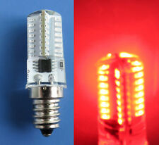 10x E12 Red Candelabra C7 LED bulb 64Led Decorative Light Lamp 110V USA Shipping