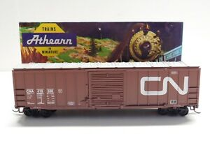 HO Scale - Athearn - Canadian National 50' Box Car Train CNA #419556