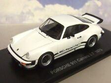 KYOSHO 1/43 DIECAST 1975 PORSCHE 911 CARRERA 2.7 IN WHITE OPENING PARTS 05521W