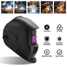 Solar Welding Helmet Auto Darkening Grining Welder Mask For Tig Mig Arc Hood