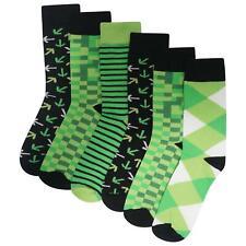 Mens/Boys 6 Pack Pixel Socks Cotton Rich Designer Socks Gamer Gift