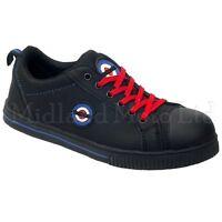 Lambretta Safety Steel Toe Cap Plimsoll Style Shoe, Boot Trainers Pumps. DB002