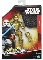 ACTION FIGURE STAR WARS HERO MASHERS C-3PO PERSONAGGIO NUOVO HASBRO 15 CM