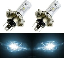 LED 30W HS1 12V White 6000K Two Bulbs Head Light Replace Motorcycle Bike