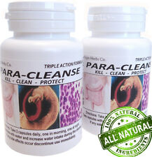 60 Parasite Blood Liver Colon Yeast Killer Cleanse DETOX
