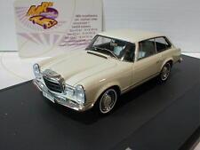 "Matrix 51302-011 # Frua MB 230SLX Coupe Baujahr 1966 in "" cremweiß "" 1:43  NEU"