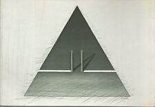 gravure originale signée de François DECK.Carte de voeux 1980 Atelier Lacourière