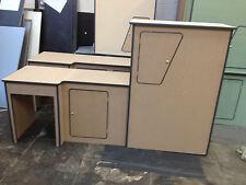VW T5 Camper Van Kitchen Unit Pod Cupboard interior SWB Ptop MDF