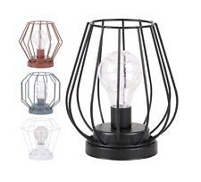 Battery Operated LED Desk Lamp Industrial Retro Light Up Bedside Lantern HomeMAT