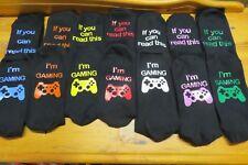 Gaming Socks - NOW 4 sizes for boys Teens & Men
