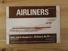 AIRLINERS FOKKER VFW F 28 FELLOWSHIP PART 1 G STIENEKE