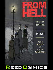 FROM HELL MASTER EDITION HARDCOVER (576 Pages) New Hardback by Alan Moore