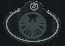 What's My Name Badge Shield Marvel Avengers Disney Pin 108526