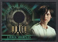 THE OUTER LIMITS SEX CYBORGS & SCI-FI (2003) Costume Card #CC5 LINNEA SHARPLES