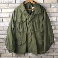 RARE Vintage 70s Vietnam War Medium Regular Coat Cold Weather Mans Field M65 Vtg