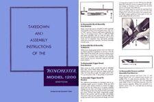 Winchester Model 1200, 1300, Sears 200 & Rangers Takedown Manual