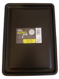 New Non Stick Bakeware Oven Tray Baking Sheet Roasting Tin Pan 32cm - 1 Piece