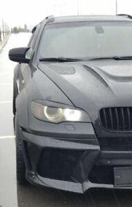 For BMW E70 X5 X5M 2006-2013 Headlight Eyelashes Eyelids Eyebrows Eye Line Cili