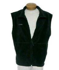 Columbia Steen Mountain Micro Fleece Vest ll Black Sleeveless Zip Up Sz XXL